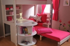 Cool Teenager Room With Storage Bunk Beds And Loft Beds